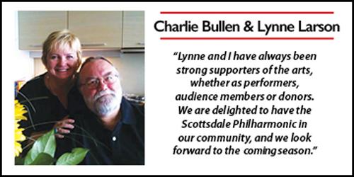 Charlie Bullen and Lynne Larson